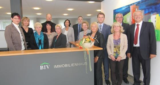 Ist 15 Mitarbeiter stark: Das Maklerbüro BIV Immobilien