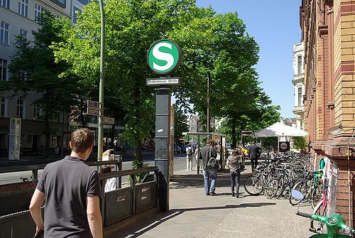 S-Bahnhof Oranienburgerstraße (Foto: Olaf, CC 2.0)