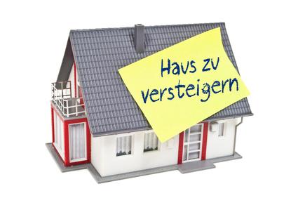 Häuser werden oft versteigert (Fotolia/stockWERK)