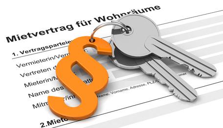 Oft ein heikles Thema: der Mietvertrag(Fotolia/beermedia.de)