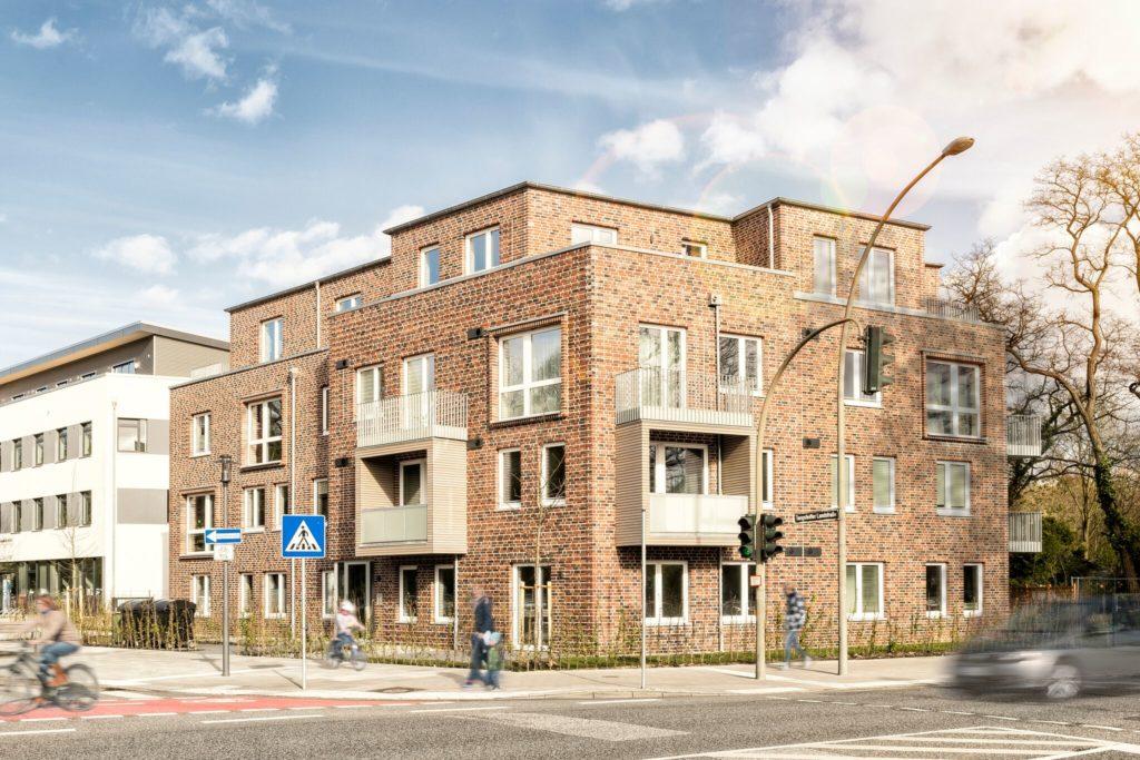 Mehrfamilienhaus Hamburg-Langenhorn (c) MMST Architekten GmbH